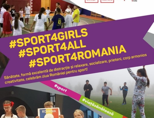 """SPORT 4 GIRLS SPORT 4 ALL SPORT 4 ROMANIA"" – Primul eveniment in Comunitate"